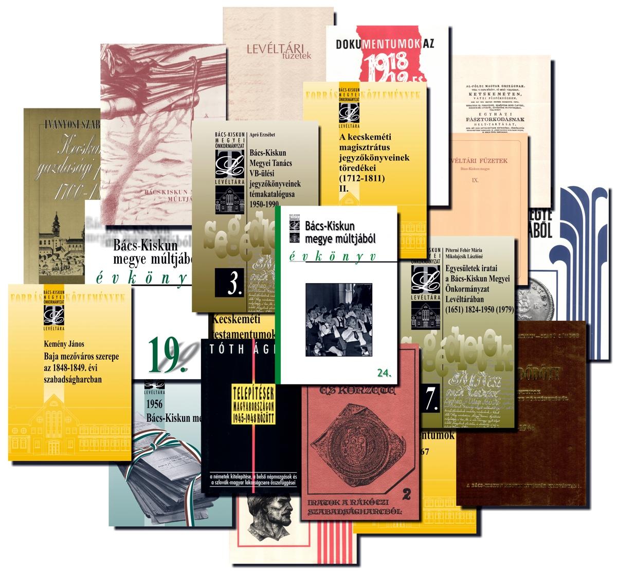 Az MNL BKML kiadványai