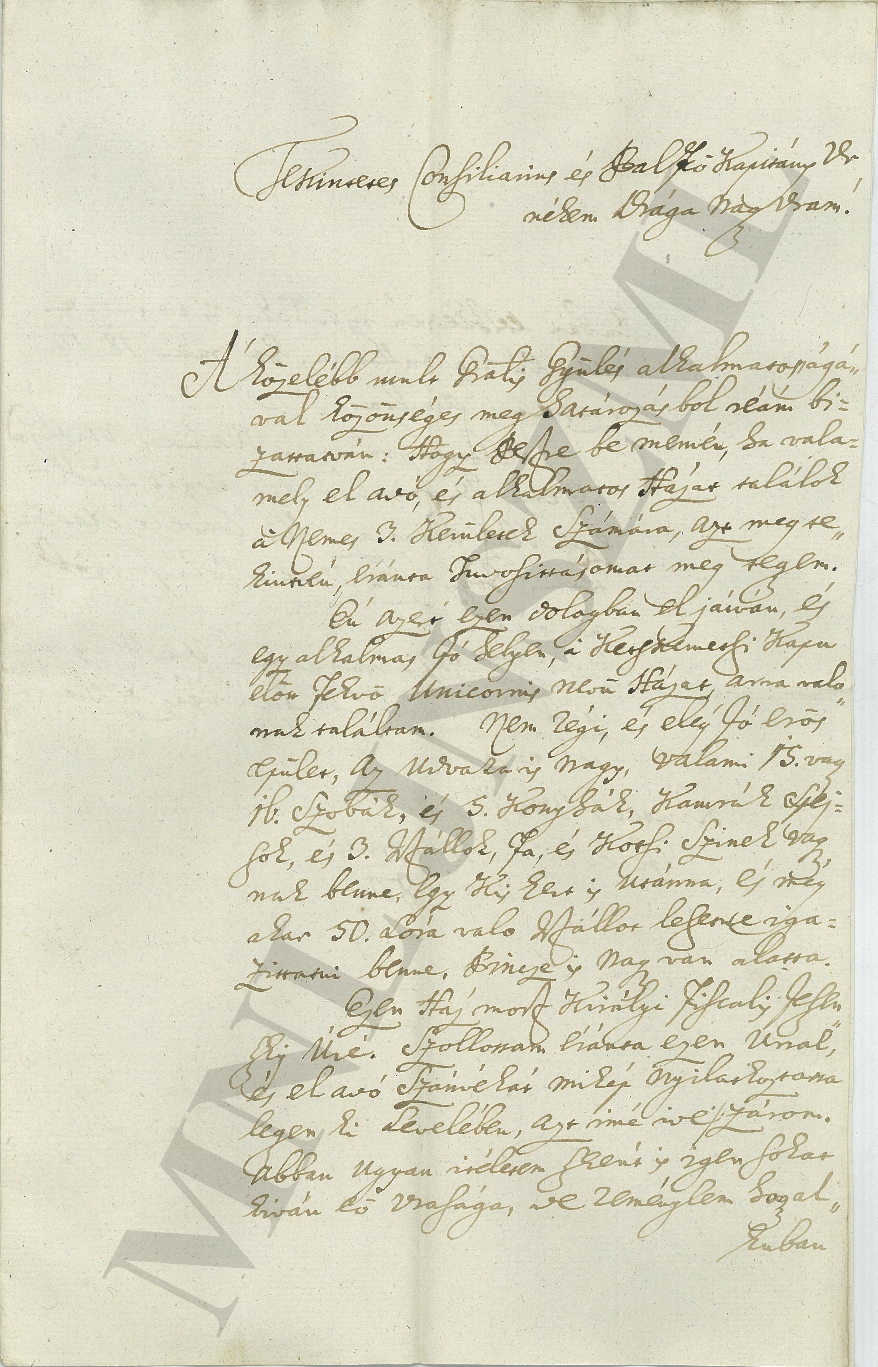 MNL JNSzML IV.1.b. A Jászkun Kerület Nemesi Közgyűlésének iratai. Közigazgatási iratok. Fasciculus 2. 668/1800.