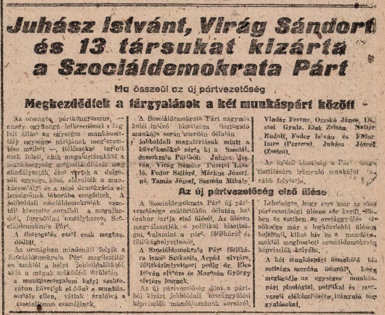 Szociáldemokrácia jelentése