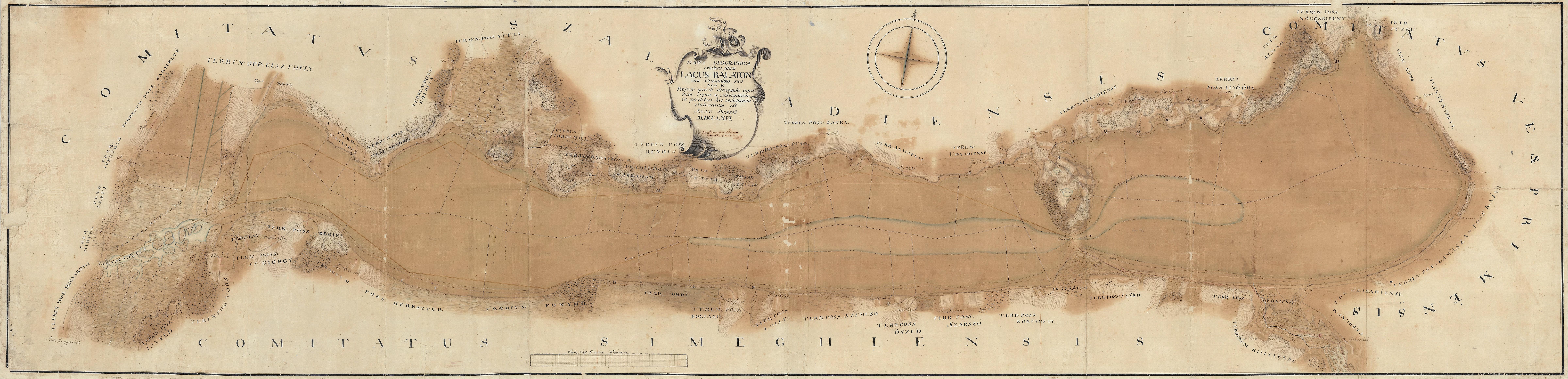 budapest balaton térkép A Balaton első valósághű térképi ábrázolása | Magyar Nemzeti Levéltár budapest balaton térkép
