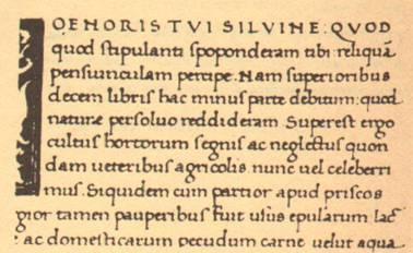 Humanista antiqua  írás, 15. század