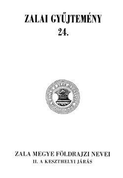 Zalai Gyűjtemény 24. borítókép.