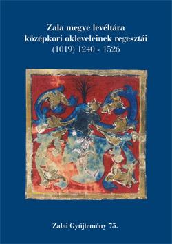 A Zalai Gyűjtemény 75. kötet borítója