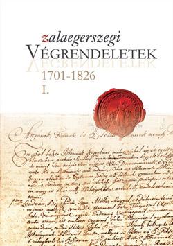 A Zalai Gyűjtemény 77. I. kötetének borítóképe.